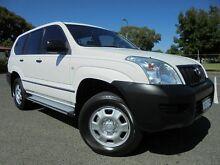 2003 Toyota Landcruiser Prado KZJ120R GX White 4 Speed Automatic Wagon Welshpool Canning Area Preview
