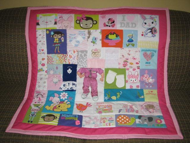 Baby Clothes Memory Quilts - Made with your babies clothes ...