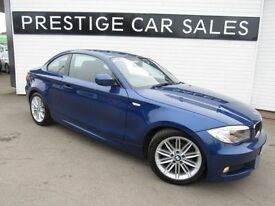 BMW 1 SERIES 2.0 118D M SPORT 2d 141 BHP (blue) 2013