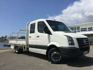 2009 Volkswagen Crafter 2EF1 50 LWB White 6 Speed Manual Dual Cab Sylvania Sutherland Area Preview