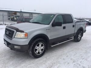 2005 Ford F-150 FX4-4WD-CREW CAB-SUNROOF-LOADED-NEW TIRES