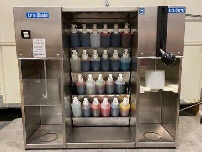 Wadden 24 Flavor System Soft Serve Ice Cream Frozen Yogurt Astro Blender Am-2