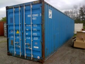 We deliver 40ft steel sea storage shipping containers Cambridge Kitchener Area image 6