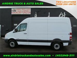 2010 Mercedes-Benz Sprinter Cargo Vans High Roof With Shelfing