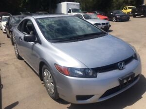 2007 Honda Civic Coupe just in for parts at Pic N Save!