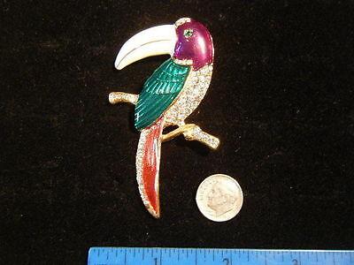 TUCAN brooch 3