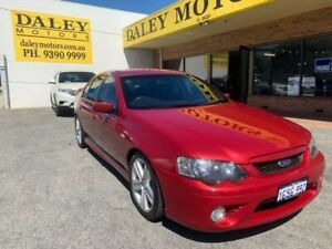2006 Ford Falcon BF XR6 6 Speed! - Red Sports Automatic Sedan