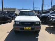 2001 Holden Rodeo TF MY01 LX White Manual Utility Granville Parramatta Area Preview