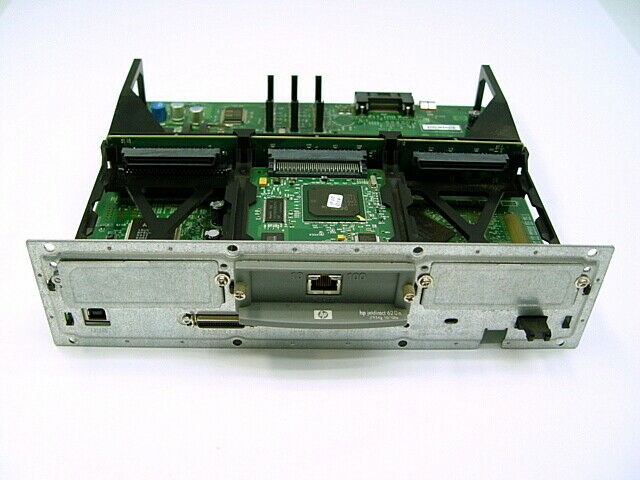 HP LaserJet Q3999-60001 Formatter Board w/ JetDirect 620n Print Server