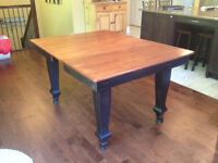 Antique Pine Harvest Table