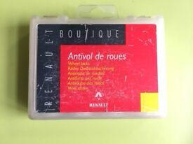 Renault locking wheel nut key - Scenic/ Megane 7701403011