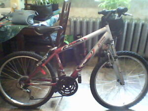 female 12 speed bike for parts available or to possibly use,