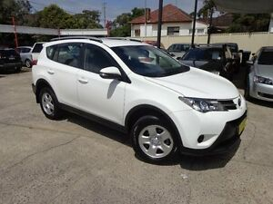 2014 Toyota RAV4 ZSA42R GX (2WD) White Continuous Variable Wagon Sylvania Sutherland Area Preview