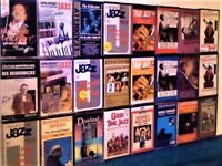 ANOTHER 24 TAPES FOR £10, JAZZ & BLUES JOB LOT OR PICK & MIX BIG NAMES PRERECORDED CASSETTE TAPES.