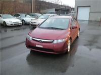 2008 Honda Berline Civic LX FINANCEMENT !!