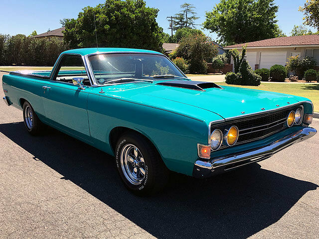 Image 1 of Ford: Ranchero Teal…