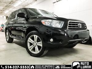 2010 Toyota Highlander Sport 4WD/7PASS/CUIRE/TOIT/CAM/MAG/PROPRE