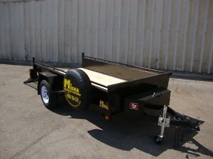 5'x10' Hercules Utility Trailer by Miska - Factory