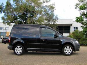 2007 Volkswagen Caddy 2KN SWB DSG Black 6 Speed Sports Automatic Dual Clutch Van Underwood Logan Area Preview