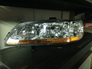 New 2001-02 Honda Accord Left Front Headlight Assembly