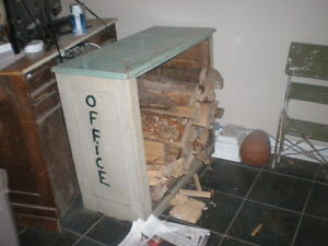 Solid Wooden Rustic Cabinet With Many Uses