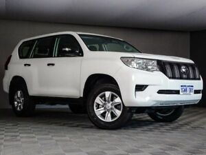 2019 Toyota Landcruiser Prado GDJ150R GX White 6 Speed Sports Automatic Wagon Maddington Gosnells Area Preview