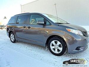 2014 Toyota Sienna - 90.00$/semaine 100% APPROUVÉ