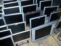 "Bulk job lot of untested monitors | 17"" and 19"" 