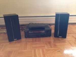 Selling: 2 Kenwood Speakers & Amp with Sony Universal Player!