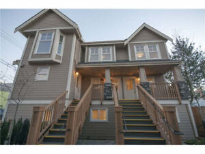3-level duplex &triplex style executive townhomes available on