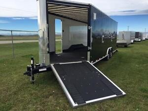 8.5ft x 26ft Royal Tri-Sport Trailer - Toy Hauler
