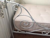 Wrought Iron French Day bed