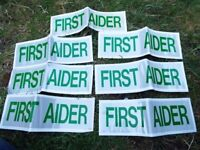7 Reflective first aider flashes
