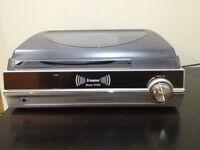 Steepletone ST926 3-speed turntable