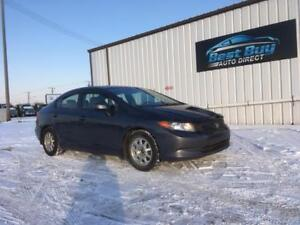 2012 Honda Civic Sedan LX -3MTH WARRANTY INCLUDED! AMAZING SHAPE