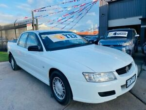 2007 Holden Crewman VZ MY06 Upgrade Heron White 4 Speed Automatic Crew Cab Utility Brooklyn Brimbank Area Preview