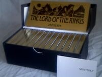 JRR Tolkien's 'The Lord of the Rings' 26 x 30 minute episodes on 13 cassettes in presentation case.