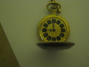 Gold mens pocket watch