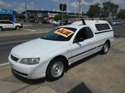 2004 Ford Falcon BA Mk II XL Ute Super Cab White 4 Speed Sports Automatic Utility Fyshwick South Canberra Preview