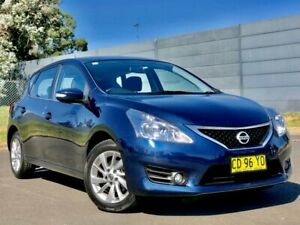 2015 Nissan Pulsar C12 Series 2 ST-L Blue 1 Speed Constant Variable Hatchback Blacktown Blacktown Area Preview