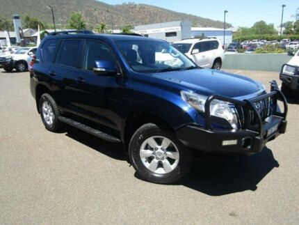 2014 Toyota Landcruiser Prado KDJ150R MY14 GXL (4x4) Blue 5 Speed Sequential Auto Wagon Tamworth Tamworth City Preview