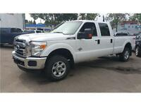 2013 FORD F-350 XLT SUPER DUTY DIESEL 4X4 LOW KMS!