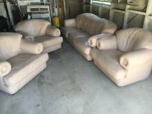 Leather Lounge Suite Set Willoughby Willoughby Area Preview