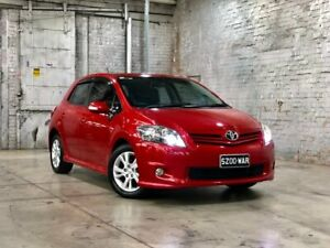 2011 Toyota Corolla ZRE152R MY11 Levin ZR Red 6 Speed Manual Hatchback