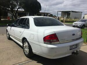 2003 Ford Fairlane BA Ghia White 4 Speed Automatic Sedan Brooklyn Brimbank Area Preview