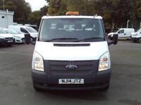 Ford Transit T350 MWB Tipper tdci 100ps DIESEL MANUAL WHITE (2014)