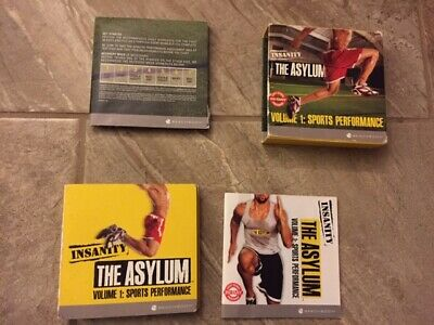Beachbody Shaun T INSANITY The Asylum Volume 1 5 DVD SET Work Out Exercise