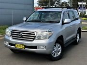 2007 Toyota Landcruiser VDJ200R Sahara Silver 6 Speed Sports Automatic Wagon Blacktown Blacktown Area Preview