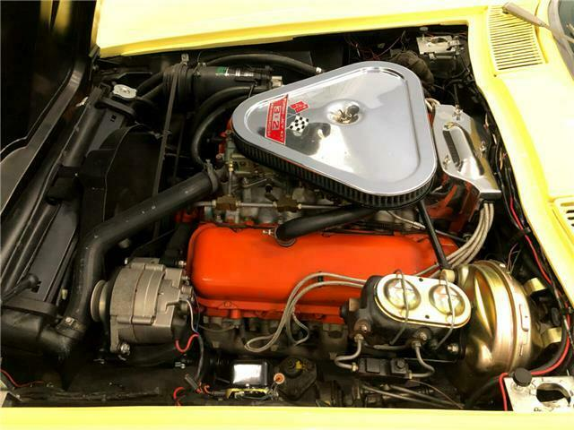 1967 Yellow Chevrolet Corvette   | C2 Corvette Photo 7