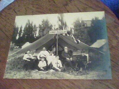 Camp Douglas Photo  Lake Shore Park  Ashtabula  Ohio  1860 80S